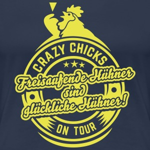 Crazy chicks on tour T-Shirts - Frauen Premium T-Shirt
