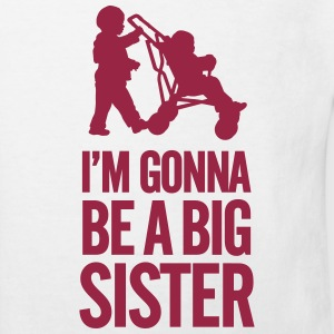 I'm gonna be a big sister baby car T-Shirts - Kinder Bio-T-Shirt