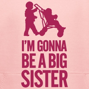 I'm gonna be a big sister baby car Bluzy - Bluza dziecięca z kapturem Premium