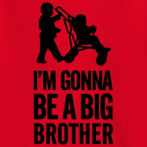 I'm gonna be a big brother baby car Camisetas - Camiseta niño