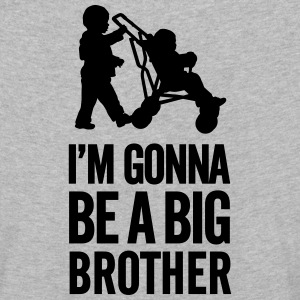 I'm gonna be a big brother baby car Langærmede shirts - Børne premium T-shirt med lange ærmer