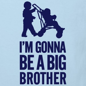 I'm gonna be a big brother baby car Magliette - Maglietta ecologica per bambini