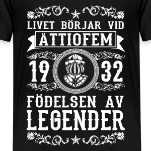 1932 - 85 ar - Legender - 2017 - SE T-Shirts - Teenager Premium T-Shirt