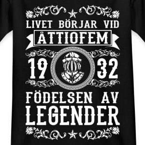 1932 - 85 ar - Legender - 2017 - SE Shirts - Kids' T-Shirt