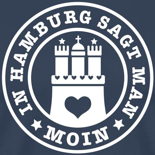 In Hamburg sagt man MOIN 1c Herz Stadtwappen