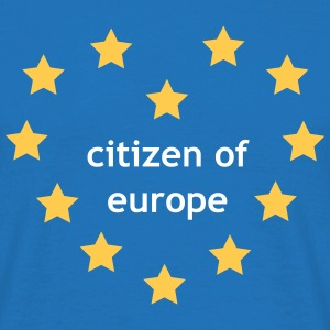 Citizen of Europe Koszulki - Koszulka męska