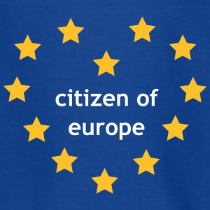 Citizen of Europe T-shirts - Børne-T-shirt