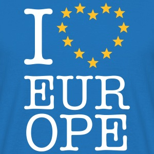 I LOVE EUROPE T-Shirts - Männer T-Shirt