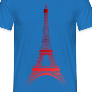 TOUR EIFFEL - ROUGE (Paris) - T-shirt Homme