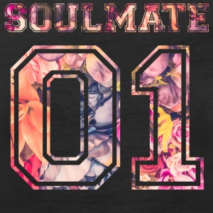 Soulmate 01 - Flowers  Tops - Frauen Premium Tank Top