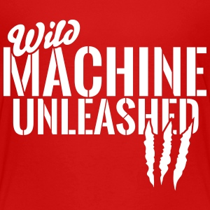 Wild machine unleashed Shirts - Kids' Premium T-Shirt