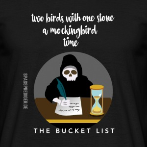 The Bucket List T-Shirts - Männer T-Shirt