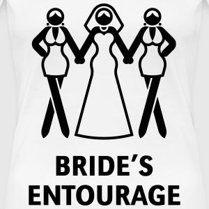 Bride's Entourage (Hen Night / Bachelorette Party) T-Shirts - Women's Premium T-Shirt