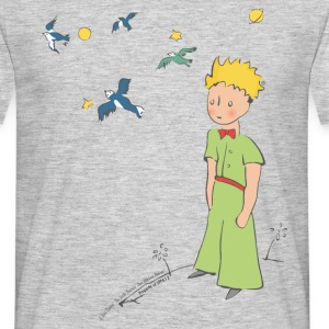 The Little Prince Travels With Birds - Men's T-Shirt