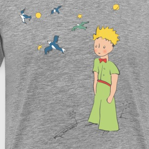 The Little Prince Travels With Birds - Men's Premium T-Shirt