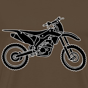 Motocross motorcycle 2 T-Shirts - Men's Premium T-Shirt