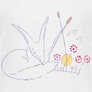 The Little Prince Fox In The Rose Garden - Kids' Premium T-Shirt