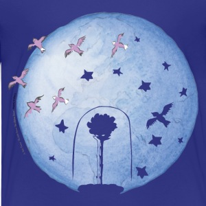 The Little Prince Rose Under Cover And Earth - Kids' Premium T-Shirt
