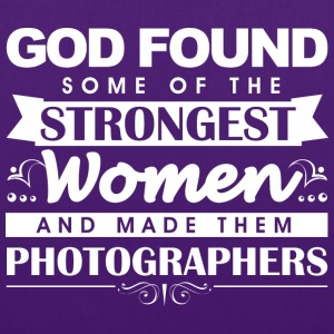 Photographer God Found w  Bags & Backpacks - Tote Bag
