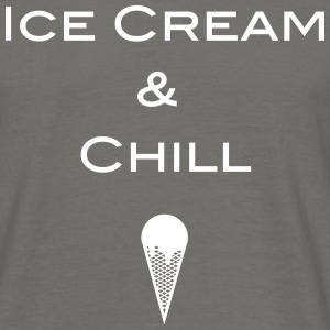 Ice cream and Chill - Männer T-Shirt