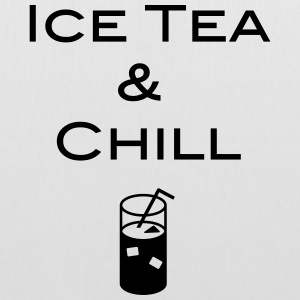 Ice Tea and Chill - Stoffbeutel