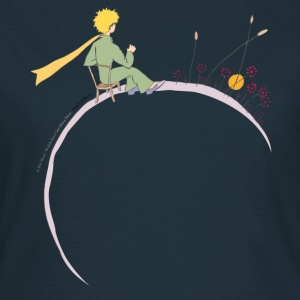 The Little Prince Looks At Sunset - Women's T-Shirt