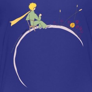 The Little Prince Looks At Sunset - Teenage Premium T-Shirt