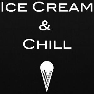 Ice cream and Chill - Stoffbeutel
