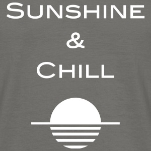 Sunshine and Chill - Männer T-Shirt