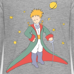 The Little Prince Portrait Illustration - Teenagers' Premium Longsleeve Shirt