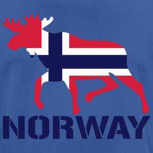Elk Norway Flag T-Shirts - Men's Breathable T-Shirt