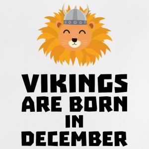 Vikings are born in December S0oki Baby Shirts  - Baby T-Shirt