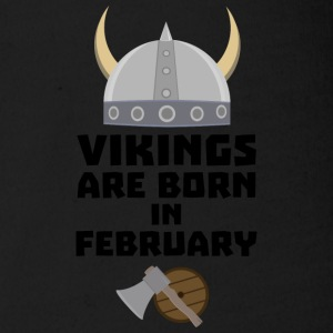 Vikings are born in February Sh6oh Baby Bodysuits - Organic Short-sleeved Baby Bodysuit