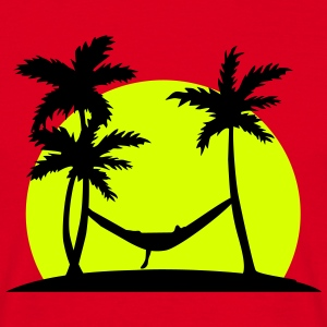 Hammock in Paradise T-shirts - Herre-T-shirt