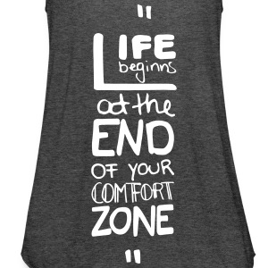 life begins at the end of Tops - Frauen Tank Top von Bella