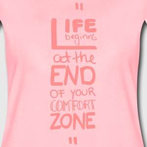 life begins at the end of T-Shirts - Frauen Premium T-Shirt