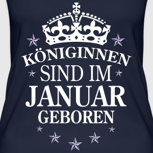 Königinnen Januar Tops - Frauen Bio Tank Top