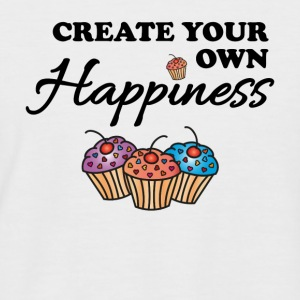 Create your own happiness Tee shirts - T-shirt baseball manches courtes Homme
