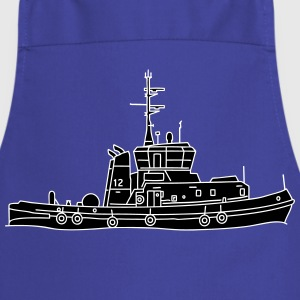 Tug or towing boat 2  Aprons - Cooking Apron