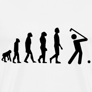 golf evolution - Männer Premium T-Shirt
