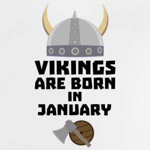 Vikings are born in January S6a7p Baby Shirts  - Baby T-Shirt