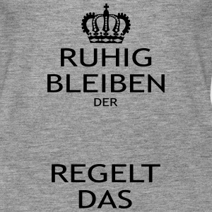 Keep Calm der ... regelt Tops - Frauen Premium Tank Top