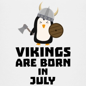 Vikings are born in July S8p0q Shirts - Kids' Premium T-Shirt