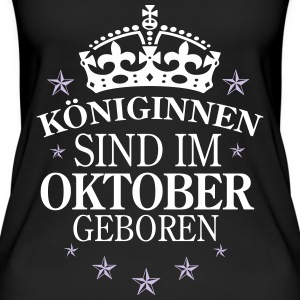Königinnen Oktober Tops - Frauen Bio Tank Top