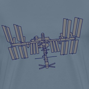 Space station ISS 2 T-Shirts - Men's Premium T-Shirt