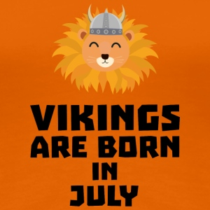 Vikings are born in July S0gcf T-Shirts - Women's Premium T-Shirt