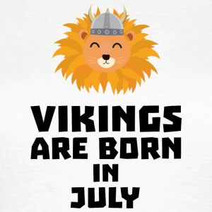 Vikings are born in July S0gcf T-Shirts - Women's T-Shirt