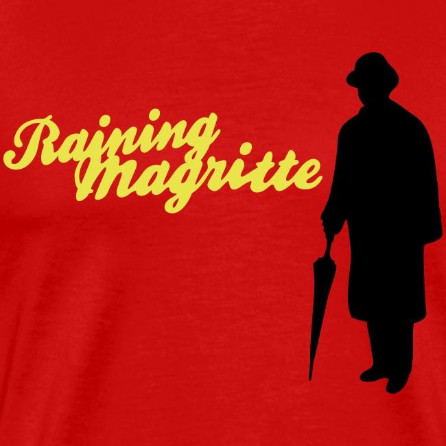 René Magritte Golconda