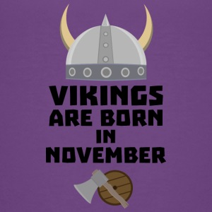 Vikings are born in November Sy53w Shirts - Teenage Premium T-Shirt