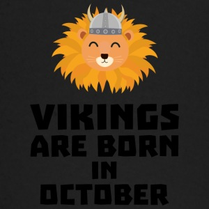 Vikings are born in October S0v8r Baby Long Sleeve Shirts - Baby Long Sleeve T-Shirt